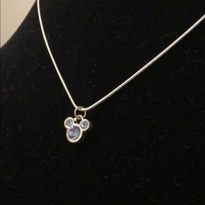 Disney Mickey Mouse Necklace 💙✨